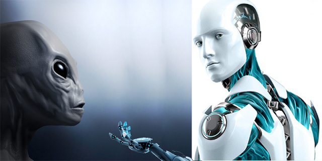 Aliens and artificial intelligences