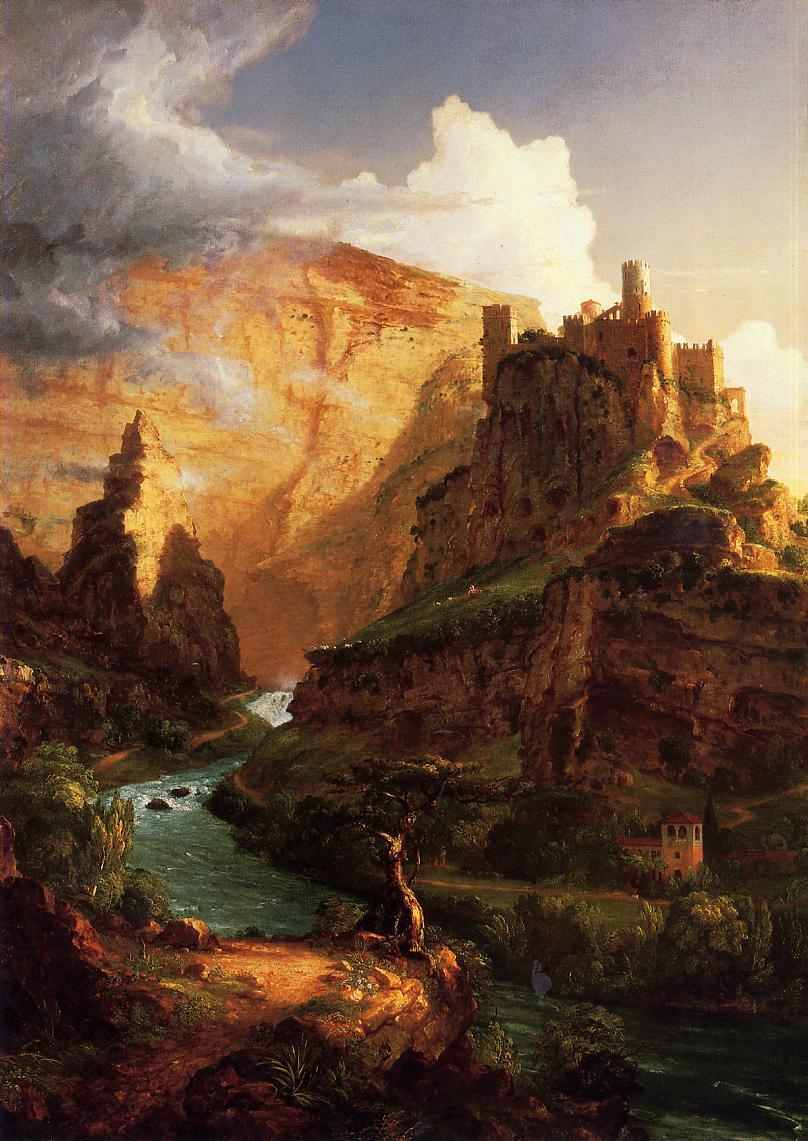 19th century American Paintings Thomas Cole