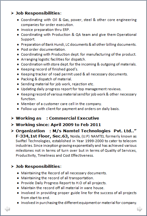 mba finance resume pdf it fresher resume format in word one page
