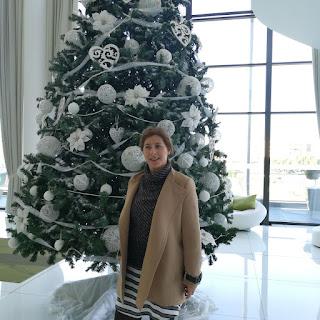 Isabel Nogales les desea Feliz Navidad