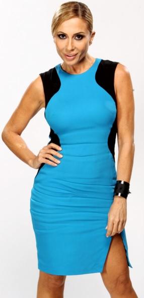 Foto de Marta Sánchez con cabello amarrado