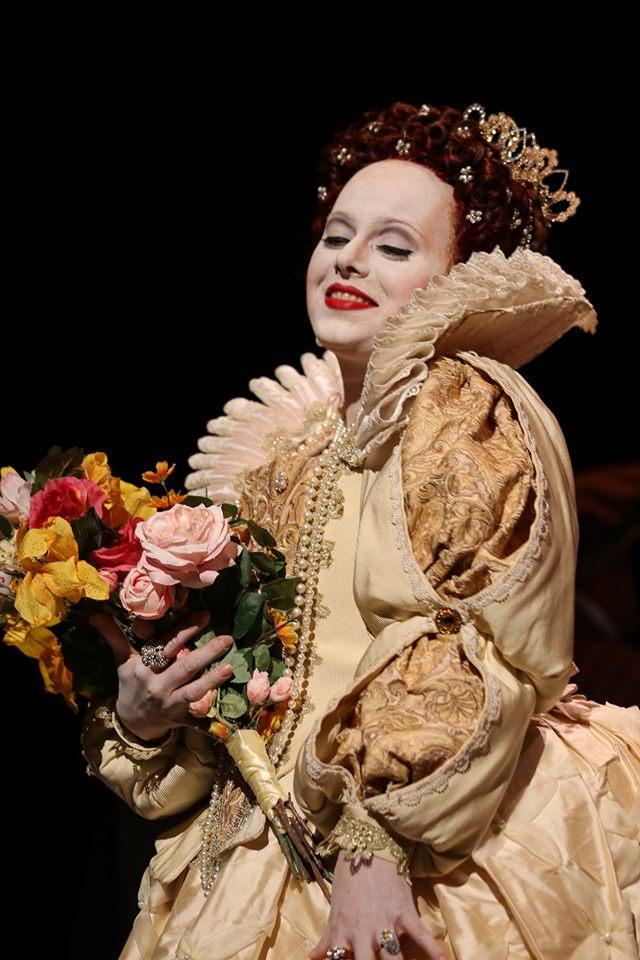 IN REVIEW: soprano YULIA LYSENKO as Elisabetta I in Piedmont Opera's October 2019 production of Gaetano Donizetti's MARIA STUARDA [Photograph © by André Peeler & Piedmont Opera]