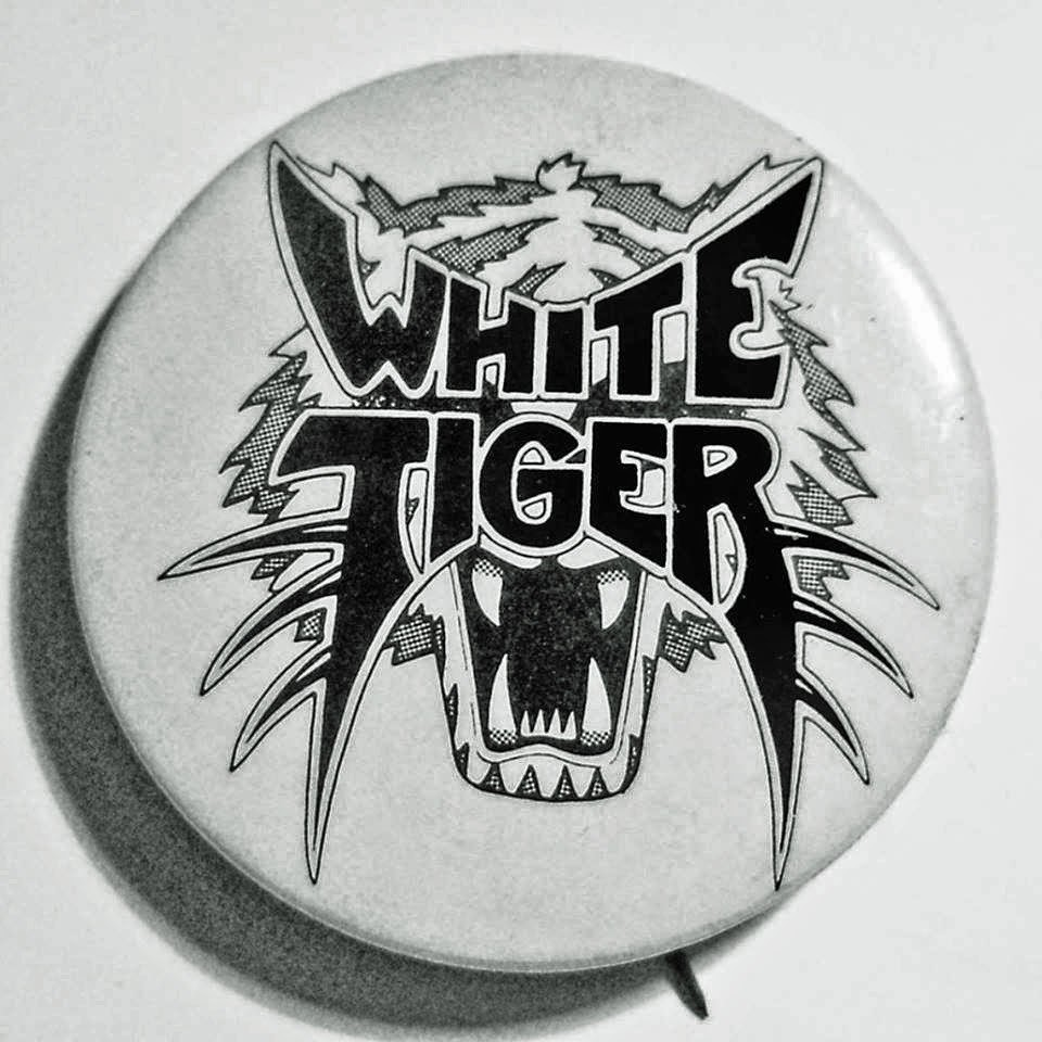 White Tiger button
