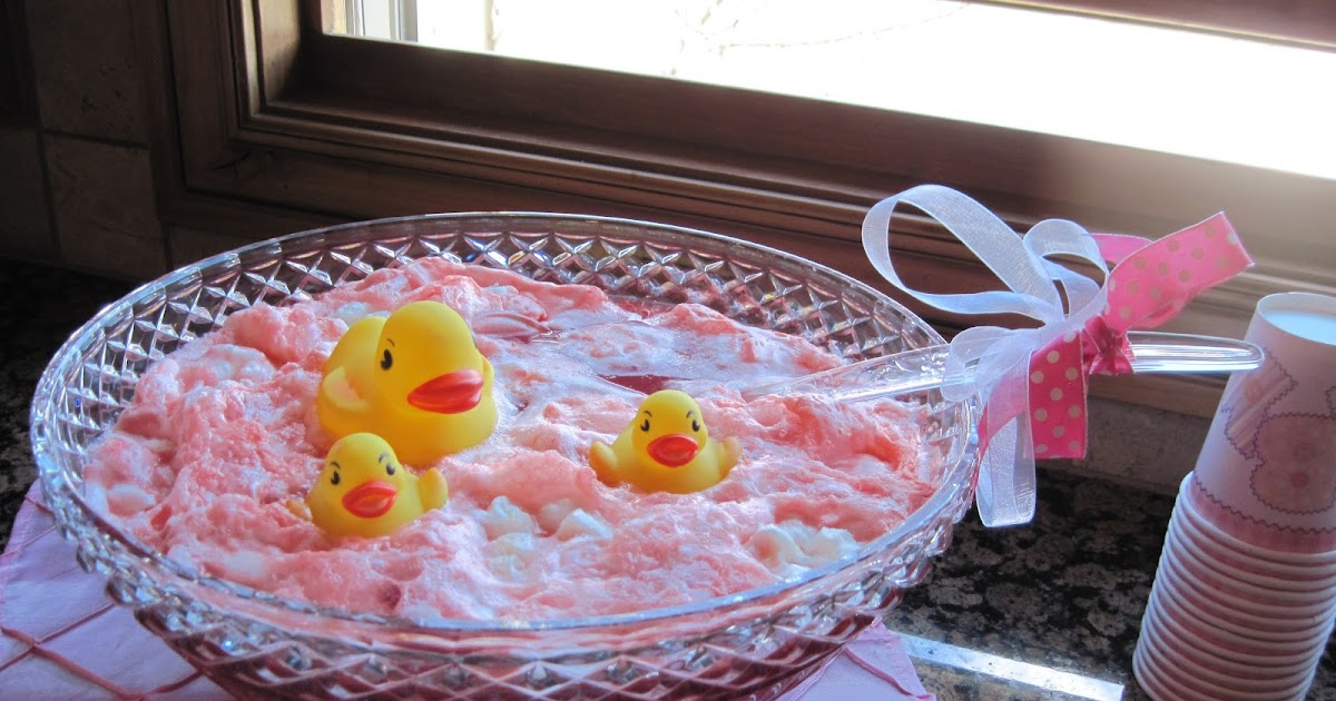 Baby Shower Food Ideas: Baby Shower Punch Ideas For A Girl