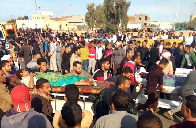 (فيديو) تفاصيل جديدة عن جريمة مسجد الروضة شمال #سيناء