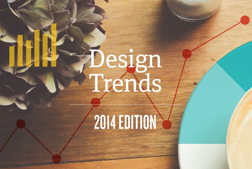 7 Visual Design Trends For 2014 - Around The Globe - infographic