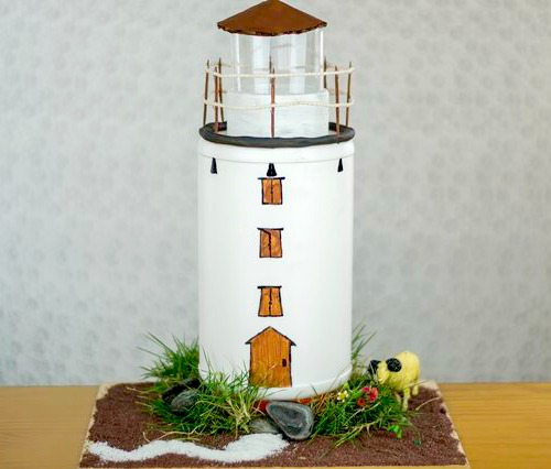 Diy Lighthouses How To Make A Lighthouse From Cardboard