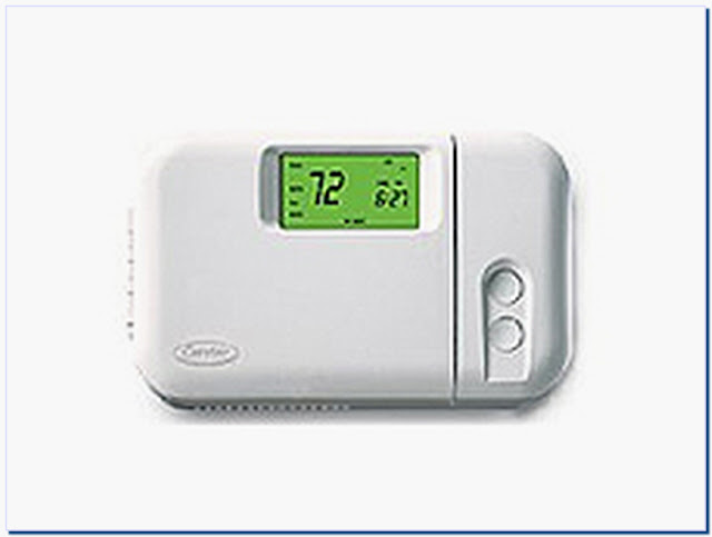 Carrier non programmable thermostat models