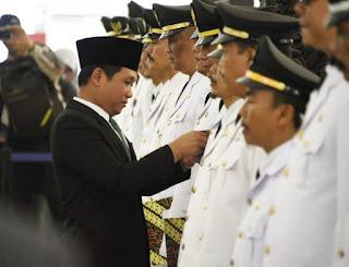 Bupati Thoriq  Lantik 118 Pejabat Pemkab   Lumajang