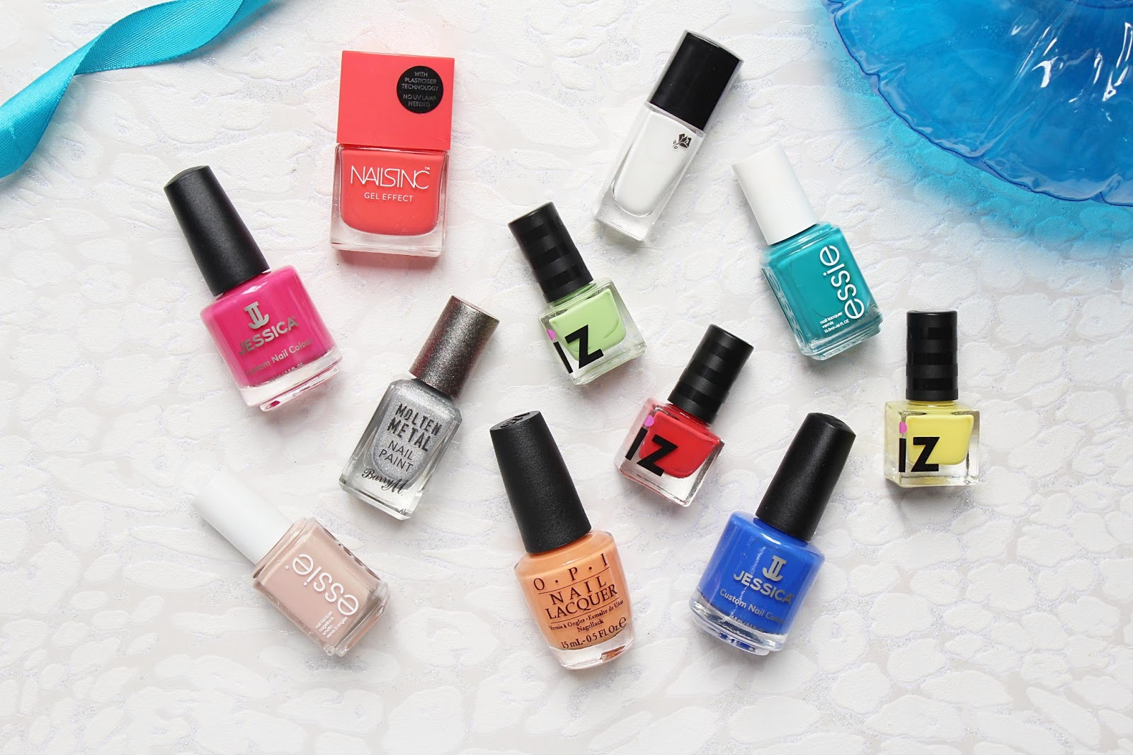 Bright Bold Nail Polishes for Summer