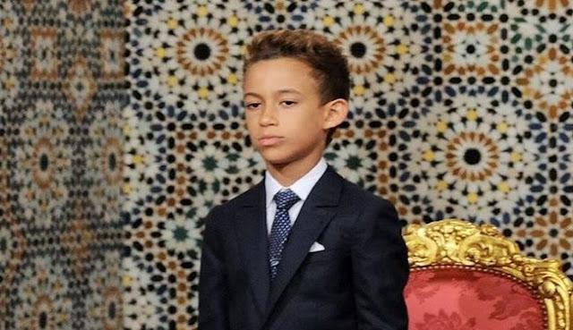 Le prince héritier du Maroc reçoit François Hollande