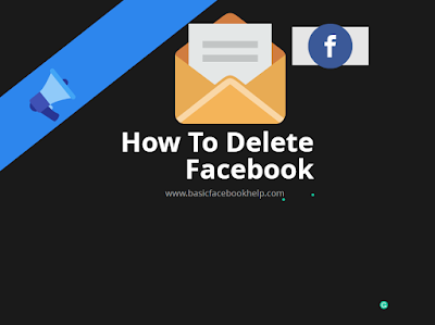 how to delete fake facebook account permanently