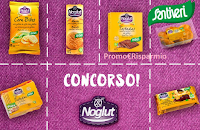 Logo Vinci gratis prodotti Santiveri Noglut Intollerance