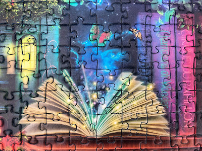 jigsaw puzzles about books