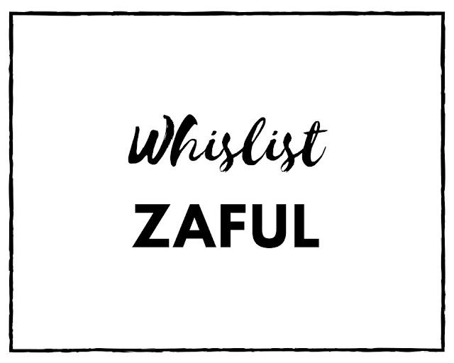 Wishlist aniversario Zaful