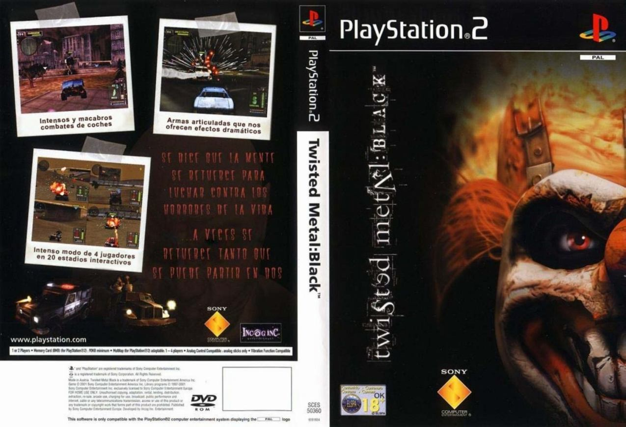 black ps2 game for pc