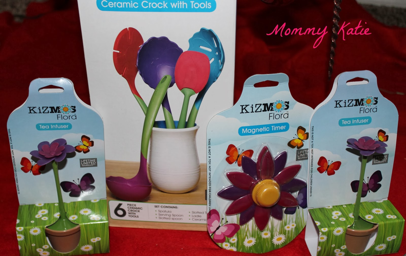 Cooking In The Kitchen This Holiday Season With Kids And Kizmos Okiedog Flower Power Cupid Tea Infusers Can Enjoy Making A Cup Of Fresh Hot To Share Grandma Grandpa Over Holidays When They Use Their Magnetic