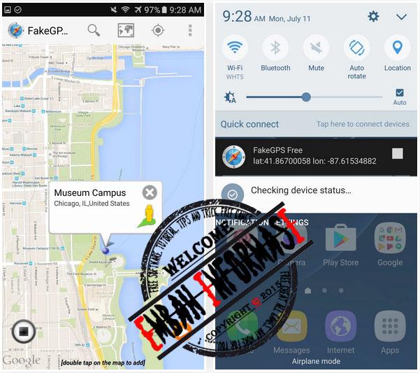 Tutorial Cheat Pokemon Go Lokasi GPS Full | Embah Informasi