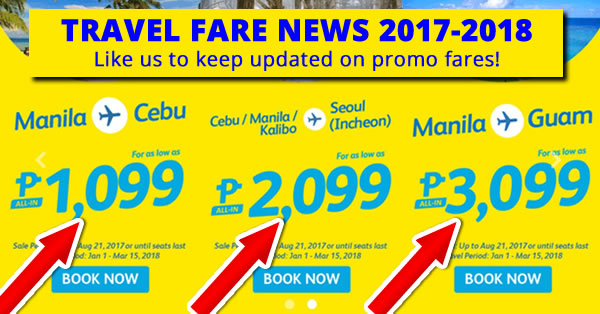 piso fare promo cebu pacific