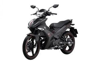 Yamaha Exciter 150 Warna Black Matte di Vietnam
