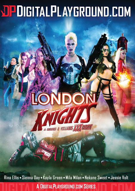 London Knights A Heroes and Villains XXX Parody Series 2017 [HD]
