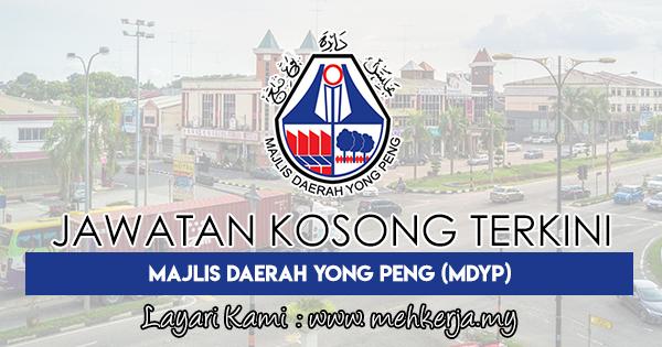 Jawatan Kosong Terkini 2018 di Majlis Daerah Yong Peng (MDYP)