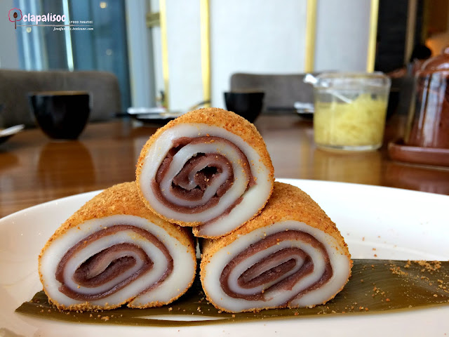 Chilled Glutinous Rice Roll with Red Bean Paste from Paradise Dynasty PH