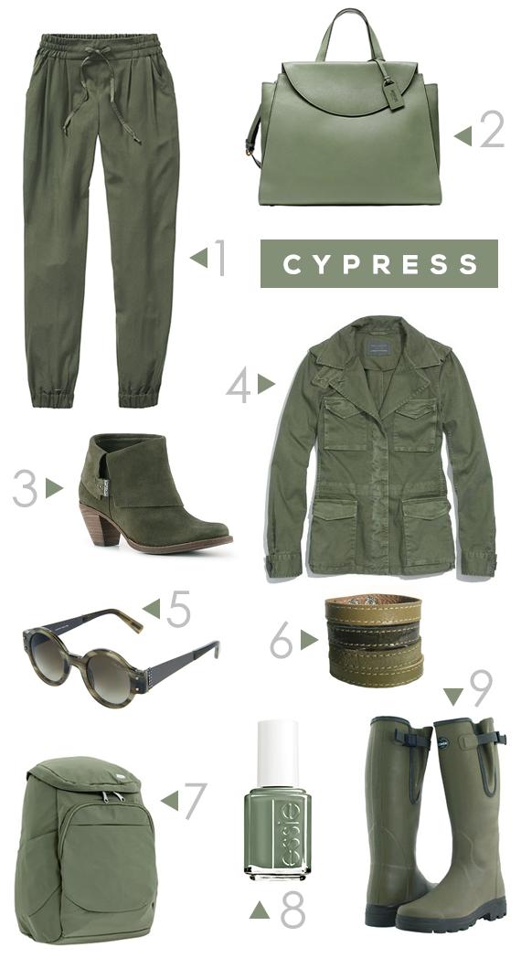 Pantone Cypress // Bubby and Bean