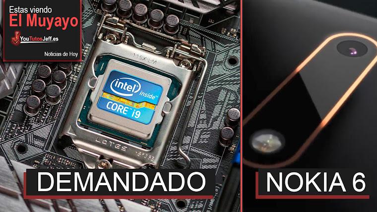 Intel Demandado por Fallo de Procesadores, Meltdown/Spectre, Afecta a Apple, Nokia 6 | El Muyayo