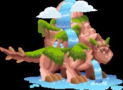 Dragón Cascada (Adulto)
