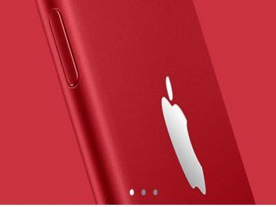 紅色iphone 7 plus