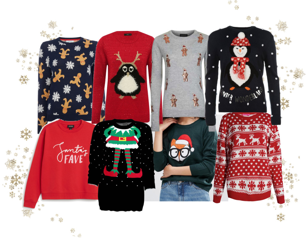 The Ugly Christmas Sweater List
