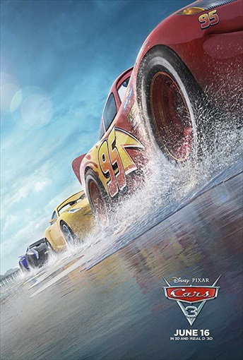 Cars 3 (2017) HDRip 480p Dual Audio Hindi 300MB