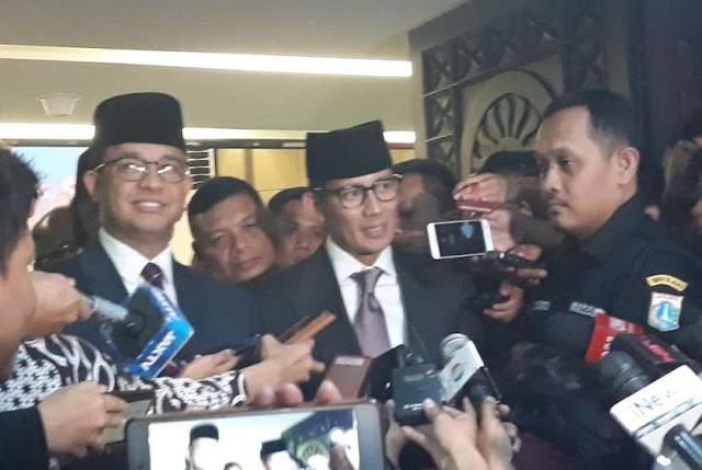 Sandiaga Uno Resmi Mundur sebagai Wakil Gubernur DKI