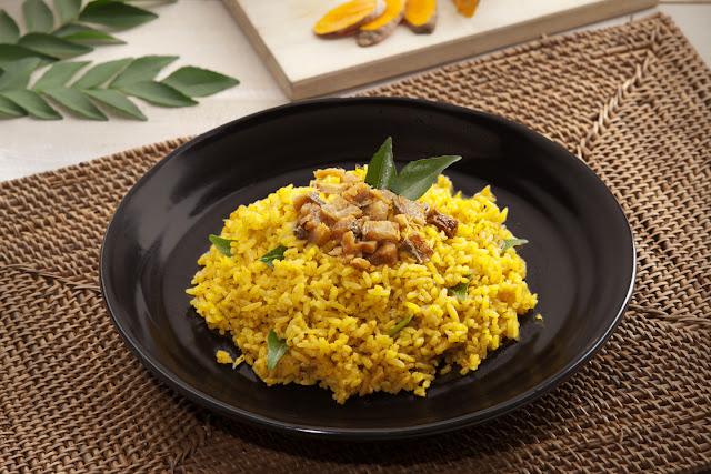 Cara Membuat Resep Nasi Goreng Kunjit