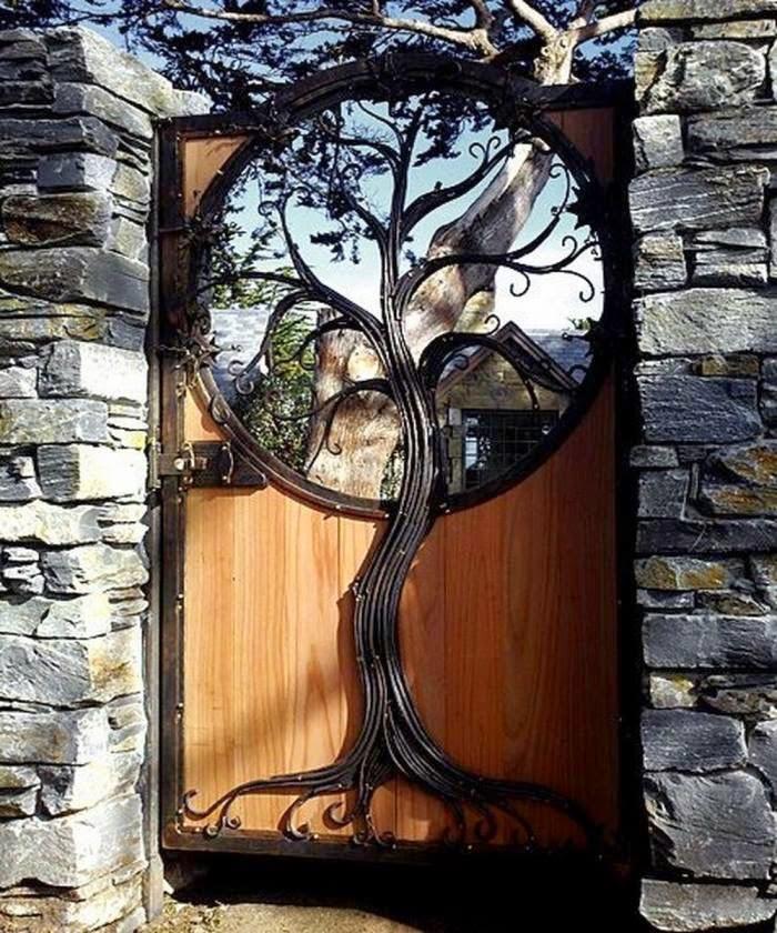 puertas de jardín blindadas en Barcelona