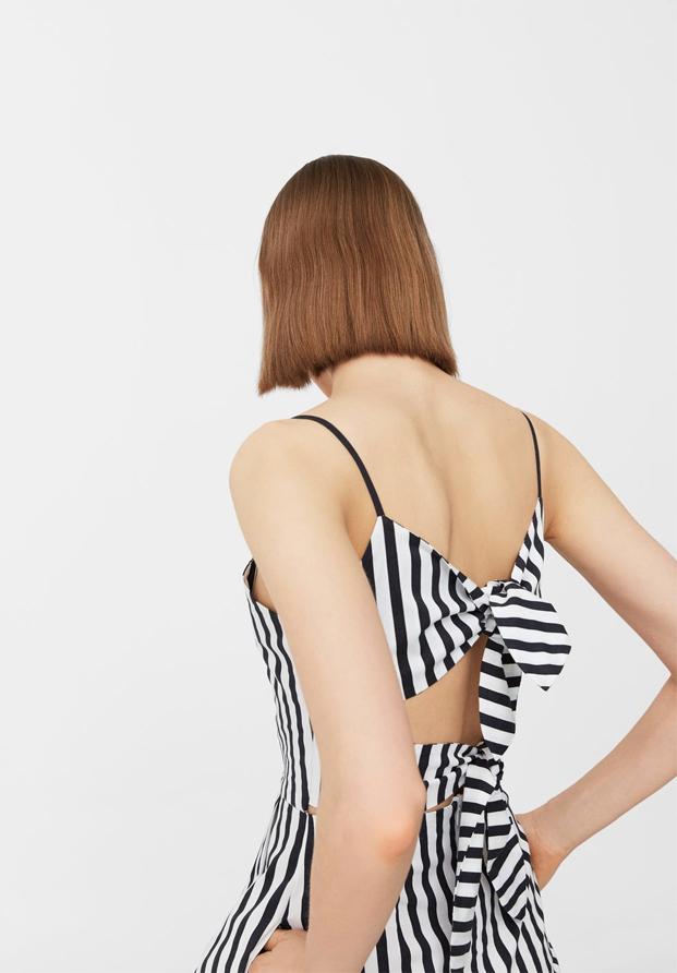 Vestido de rayas de Zara