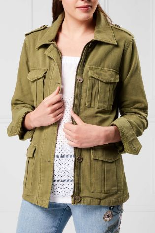 Next Khaki Utility Jacket