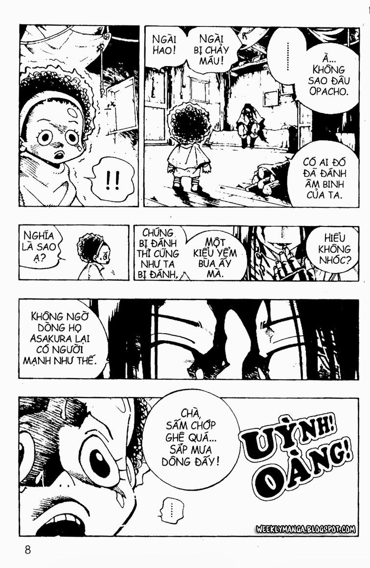 Shaman King [Vua pháp thuật] chap 91 trang 4