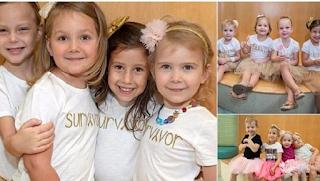 Τέσσερα κoριτσάκια πολέμησαν και νίκησαν μαζί τον καρκίνο έχοντας στήριγμα η μία την άλλη στις πιο δύσκολες στιγμές