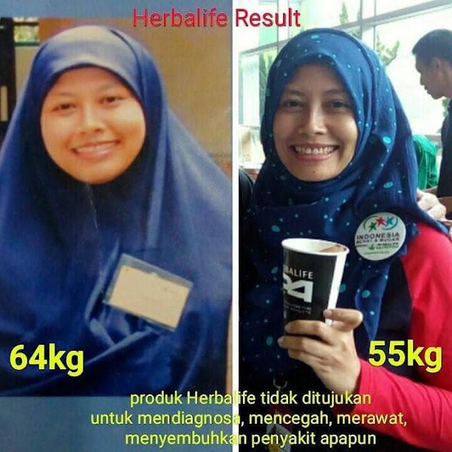 testimoni diet sehat herbalife