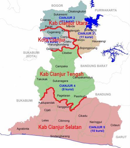 KangAtepAfia.com : Wacana Pemekaran Kabupaten Cianjur