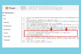 Cara Jitu Mengatur Gambar Posting Blog Otomatis Responsive Semua Layar