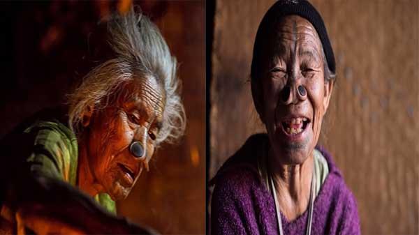 عجائب وغرائب القبائل: نساء شعب الأباتاني يشوهن أنفسهن لهذا السبب الغريب!
