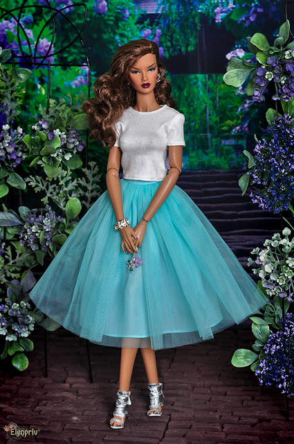 "Decisive ITBE 16""Fashion Royalty FR:16 doll by Integrity Toys Jason Wu doll wears midi mint tutu ballet by Elenpriv Integrity toys Elena Peredreeva Jason Wu FR2 FR:16 pattern handmade куклы выкройка одежда своими руками"