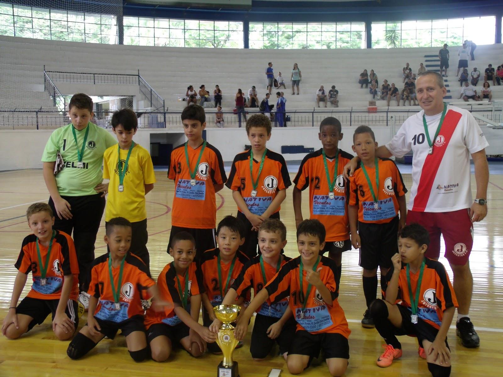 Futsal  Clube Jundiaiense leva título do Torneio Inicio – sub 11 ... 342233f962161