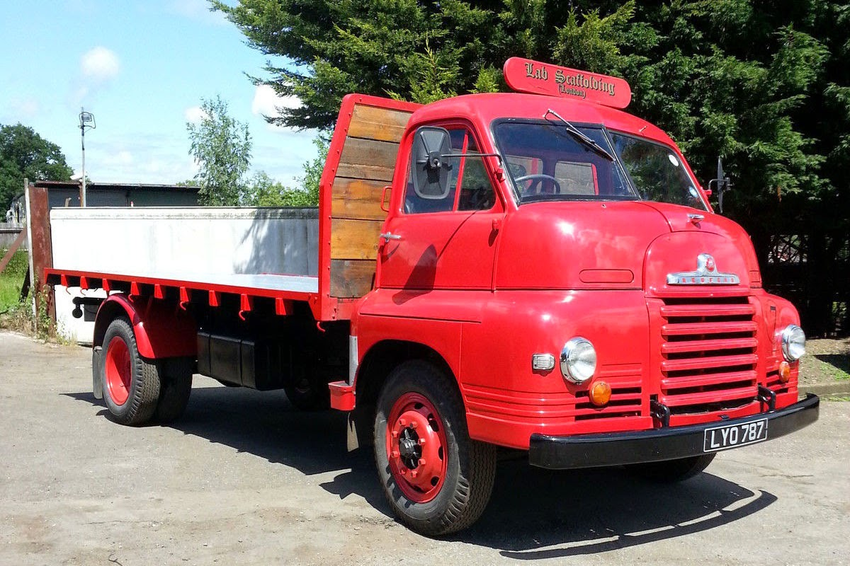 1955 Bedford S Type Flatbed Truck Auto Restorationice