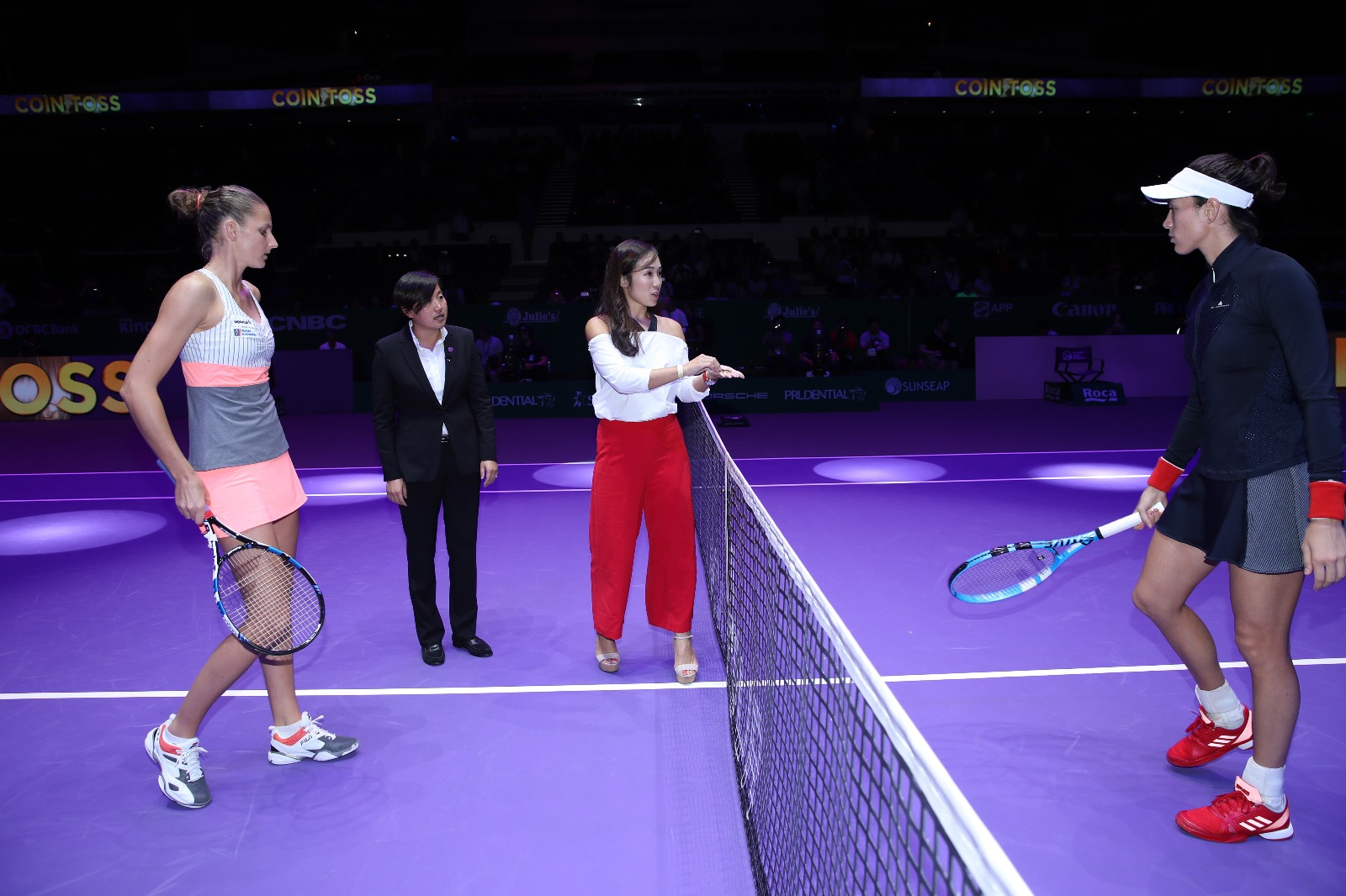gastronommy com: WTA Finals Singapore | The Coin Toss