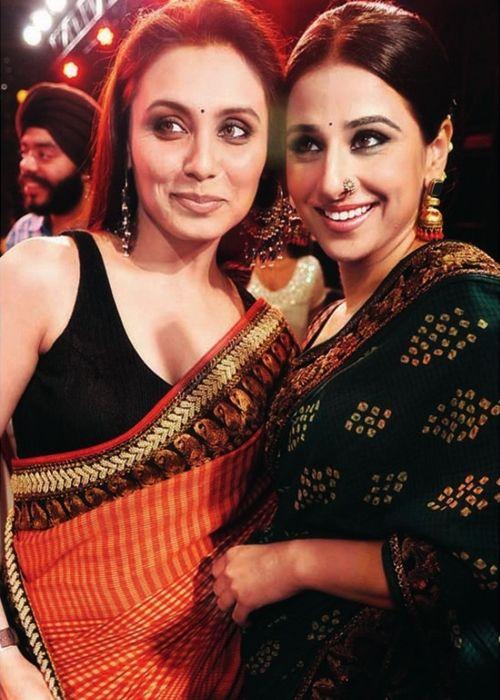 Rani Mukerji and Vidya Balan