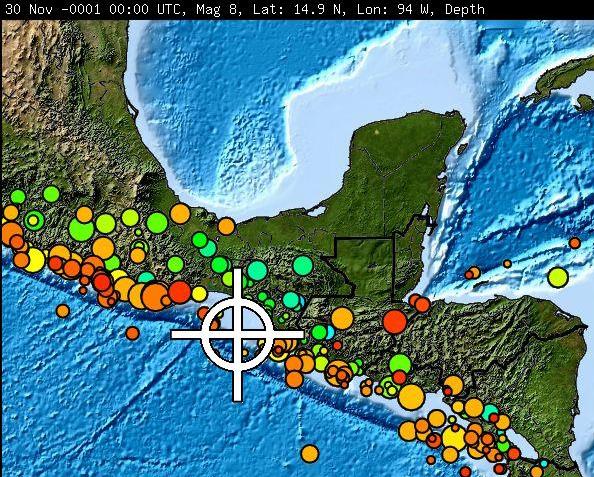 Alerta De Tsunami Para Guatemala Y Centroamerica Por Terremoto Magnitud 8